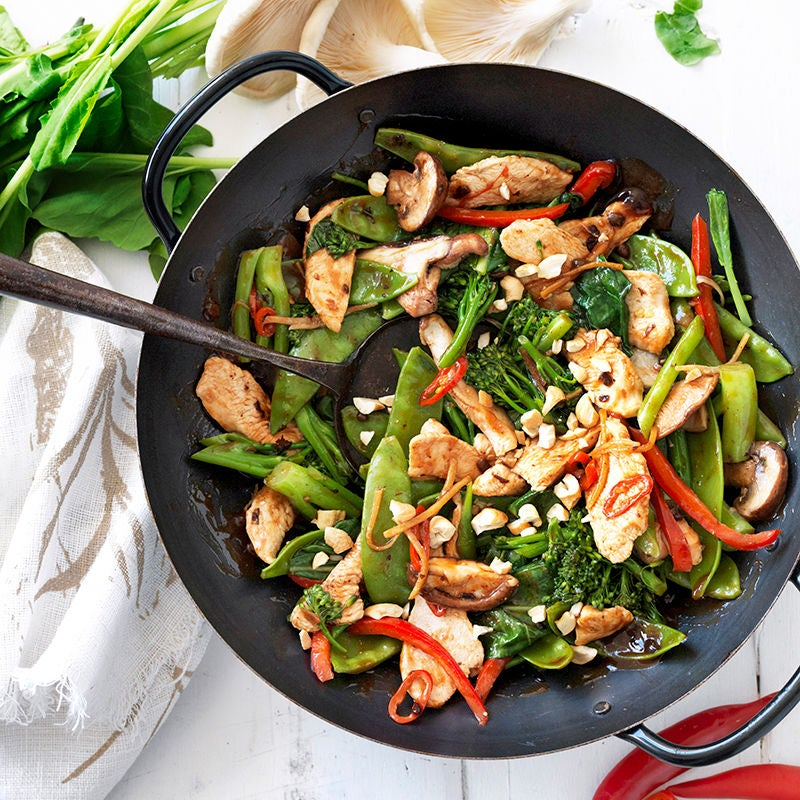 Photo of Chicken stir-fry with black bean sauce by WW