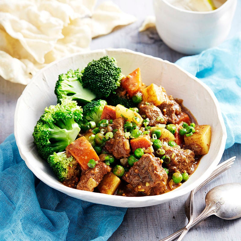 Photo of Beef and sweet potato curry  by WW
