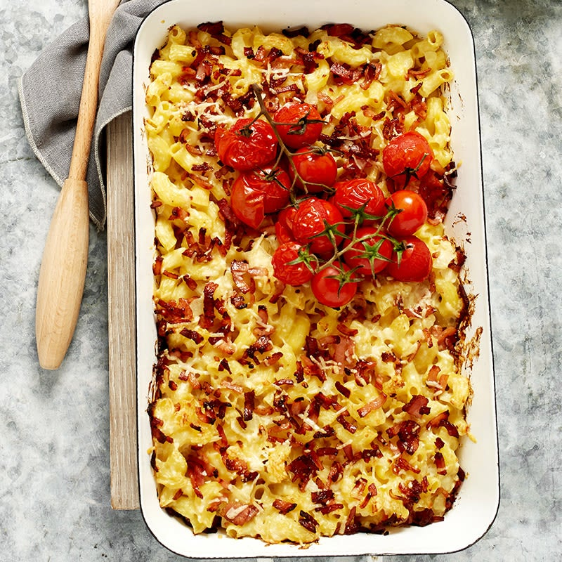 Photo of Macaroni cheese with crispy bacon by WW