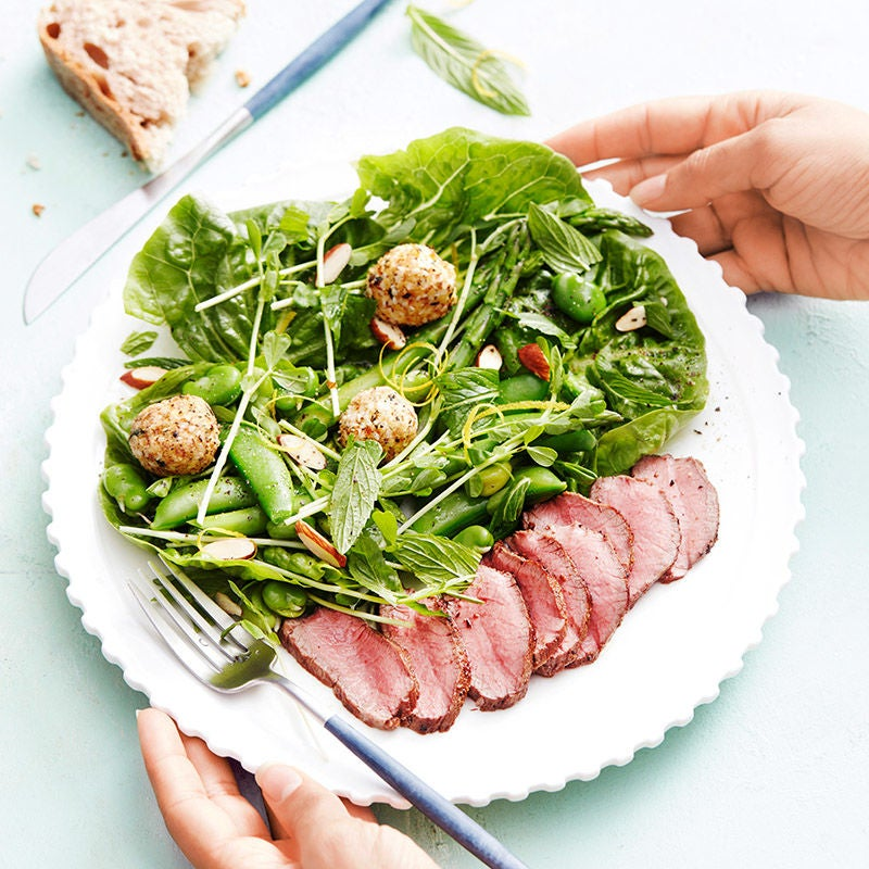 Photo of Lamb and labne salad by WW