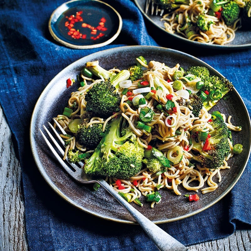 Photo of Roasted broccoli and soba noodle salad by WW