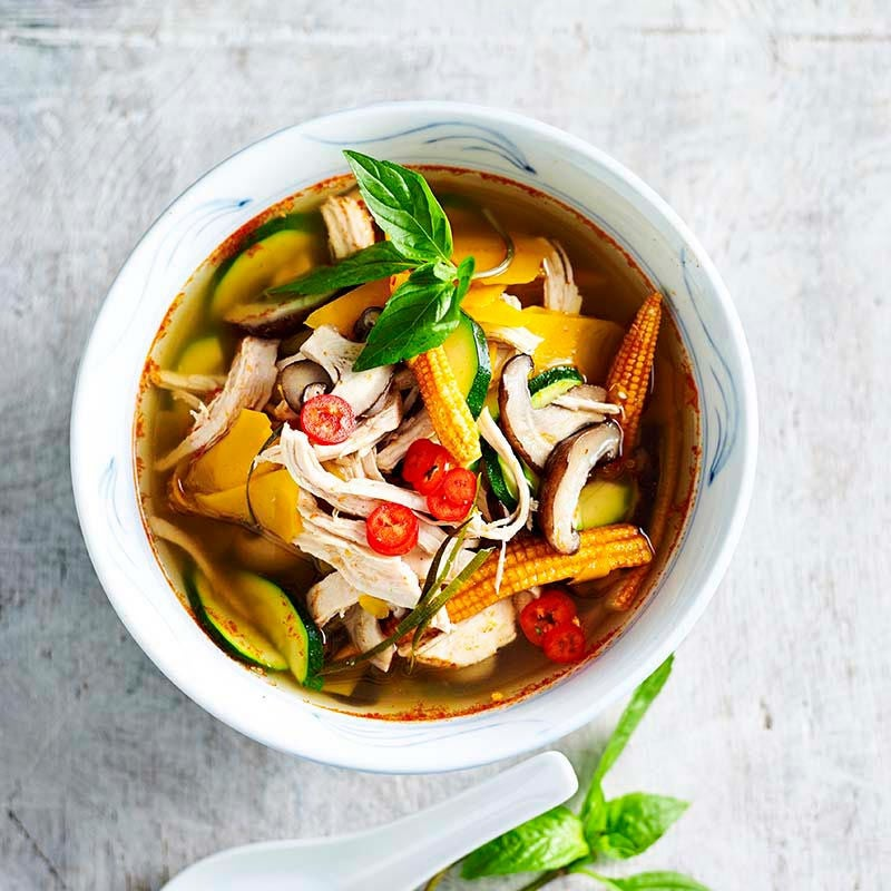 Photo of Chicken tom yum soup by WW