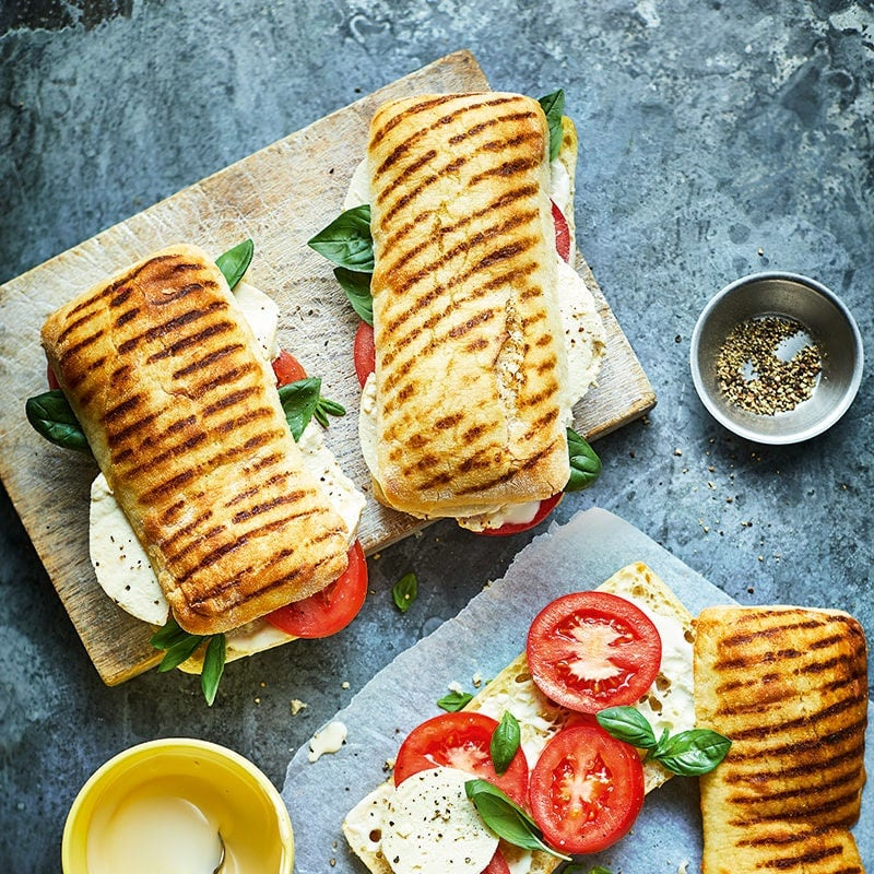 Photo of Caprese panini rolls by WW
