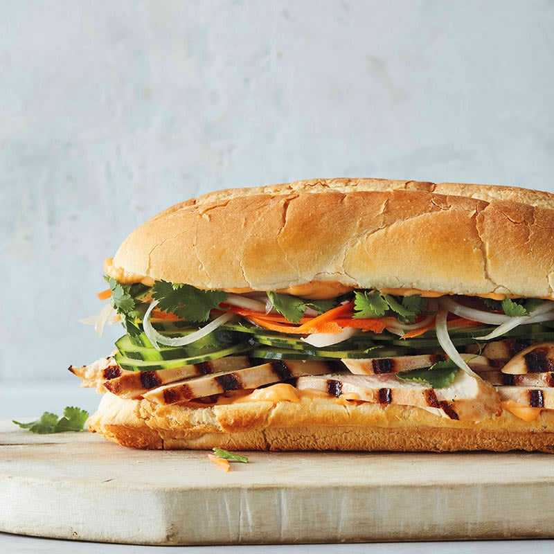Photo of Chicken banh mi roll by WW