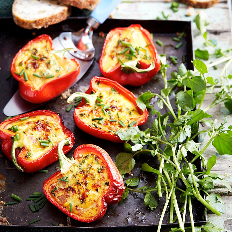 Photo of Barbecued cheesy capsicums by WW