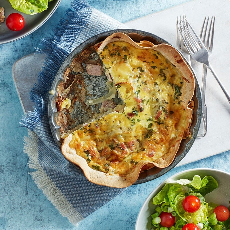 Photo of Cheat's quiche Lorraine by WW