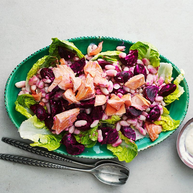 Photo of Trout and beetroot salad by WW