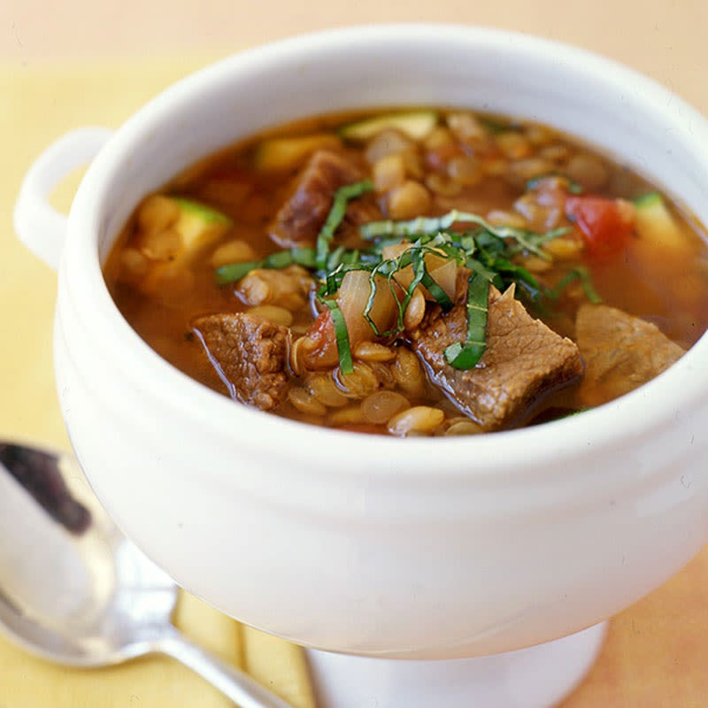 Photo of Italian beef and lentil slow-cooker stew by WW