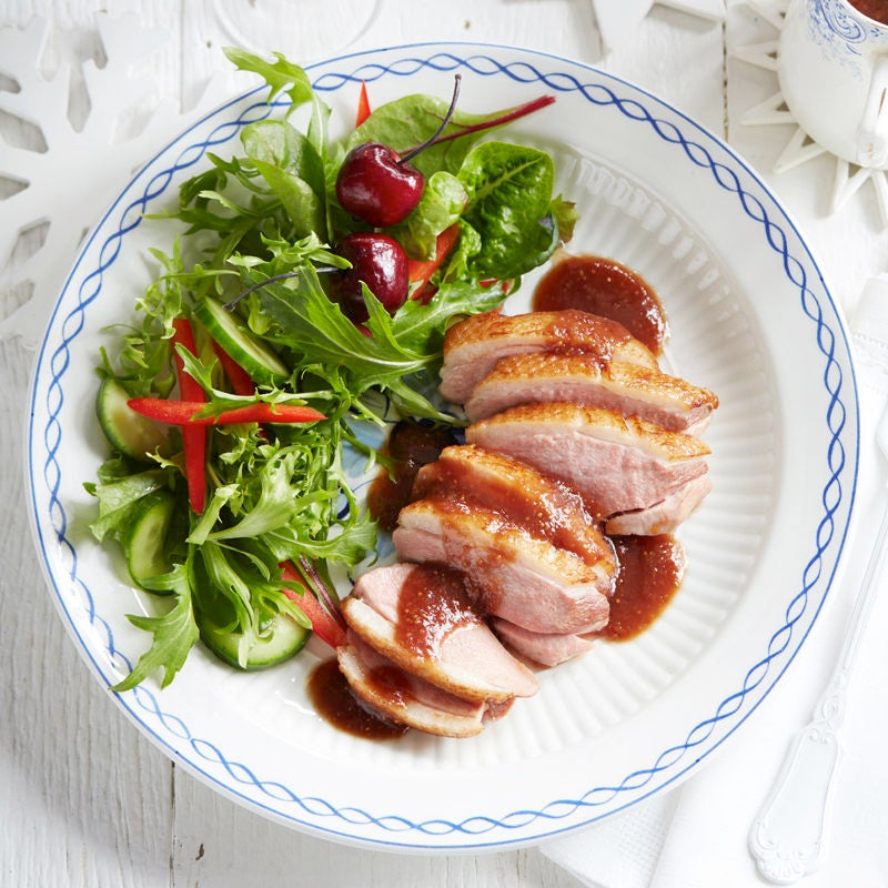 Photo of Roast duck with port and fig sauce by WW