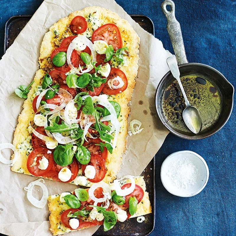 Photo of Modern margherita pizza by WW