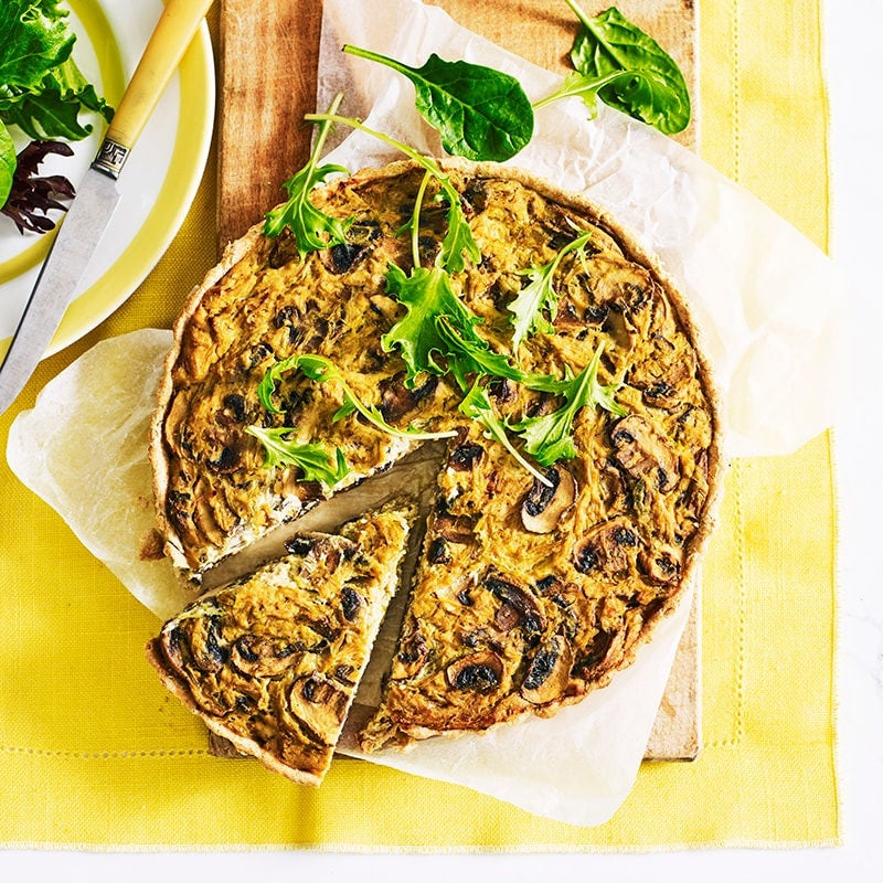 Photo of Leek, mushroom and tofu quiche by WW