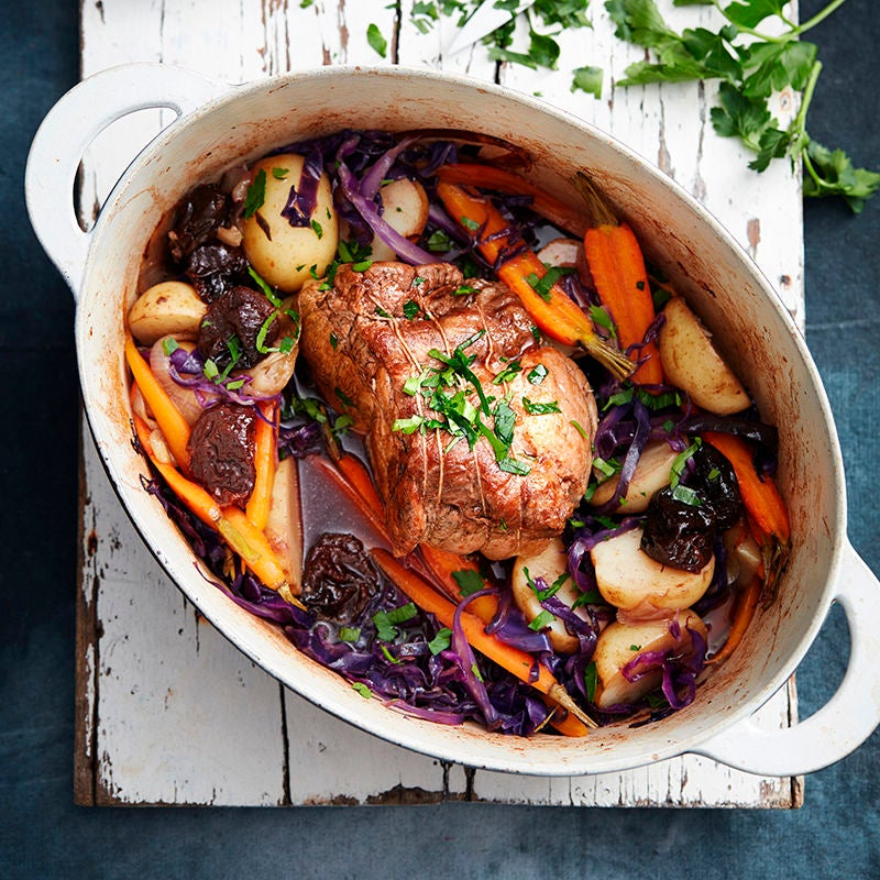 Photo of Pork pot roast with cabbage and prunes by WW