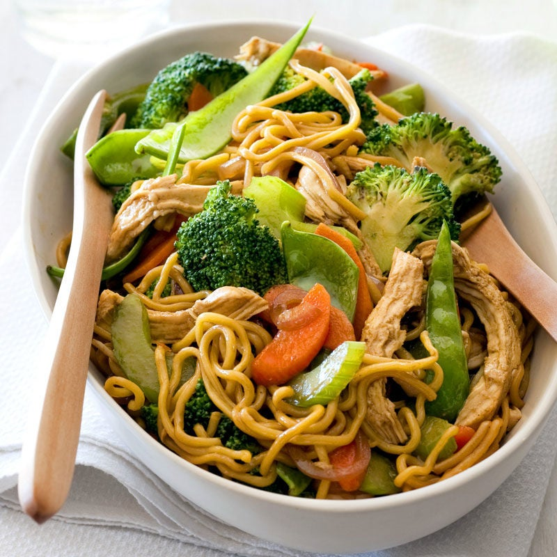 Photo of Chicken Singapore noodles by WW