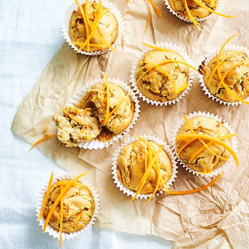 Photo of Spiced carrot and zucchini muffins by WW