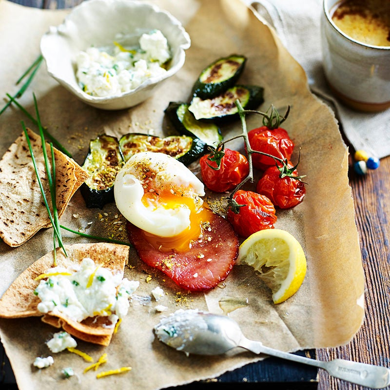 Photo of Breakfast mezze plate by WW