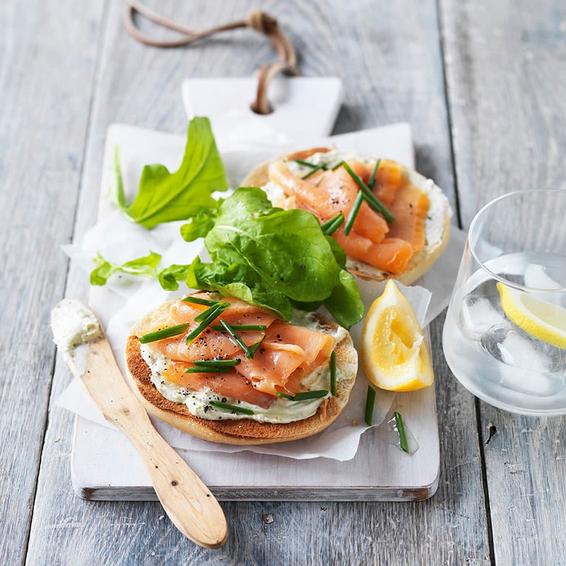 Photo of Bagels with smoked salmon by WW