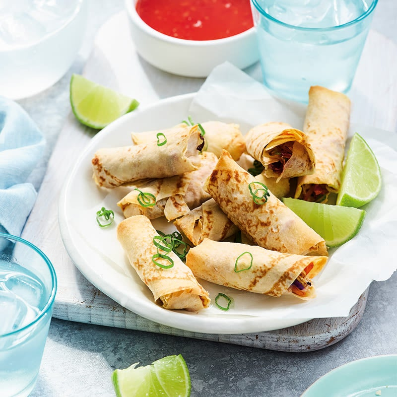Photo of Anna's mountain bread spring rolls by WW