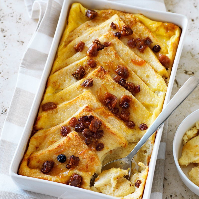 Photo of Fig bread and butter pudding by WW