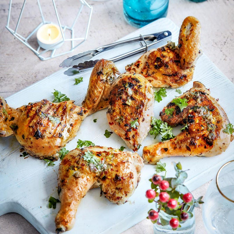 Photo of Herb marinated BBQ chicken by WW