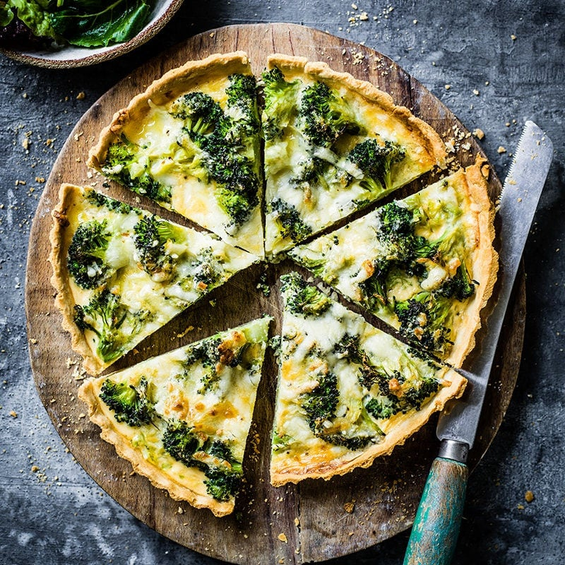 Photo of Broccoli and cheddar quiche by WW