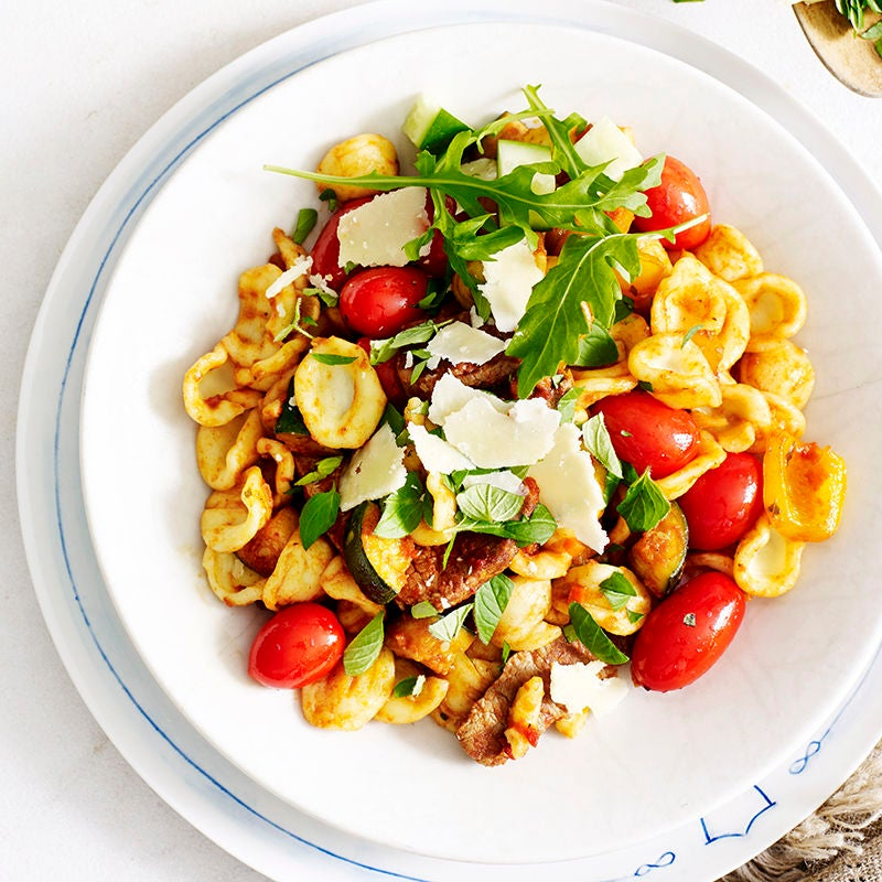 Photo of Orecchiette with lamb and grape tomatoes by WW