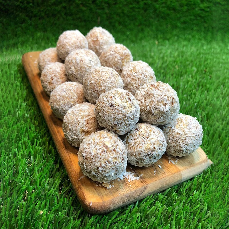 Photo of Anna's salted caramel and coconut bliss balls by WW