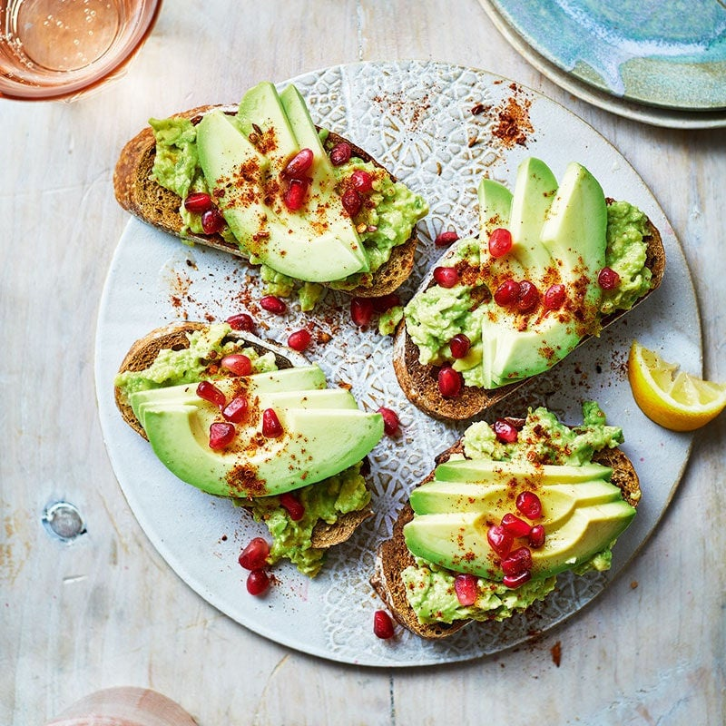 Photo of Moroccan-style smashed avo toast by WW