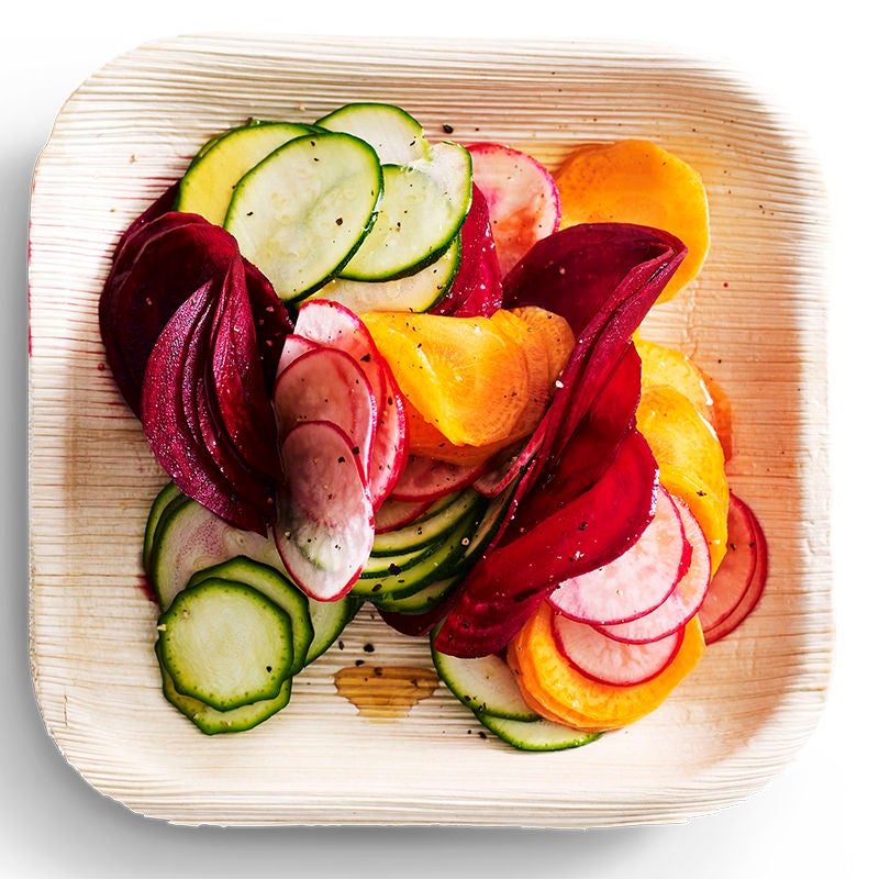 Raw rainbow vegetable salad recipes weight watchers nz raw rainbow vegetable salad forumfinder Image collections