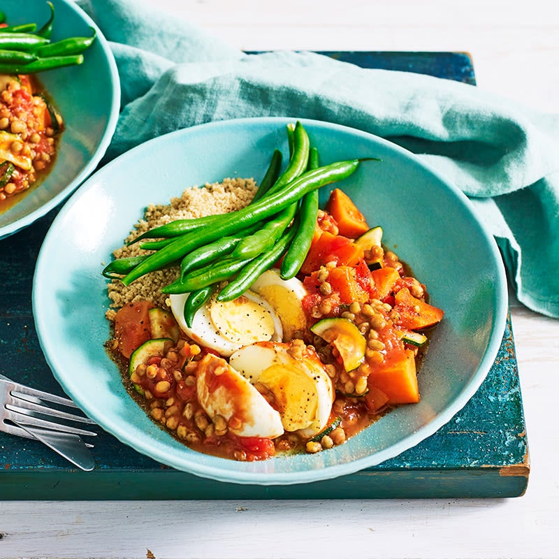 Photo of Egg, lentil and sweet potato tagine by WW