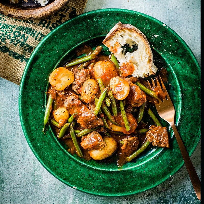 Photo of Lamb and green bean stew by WW