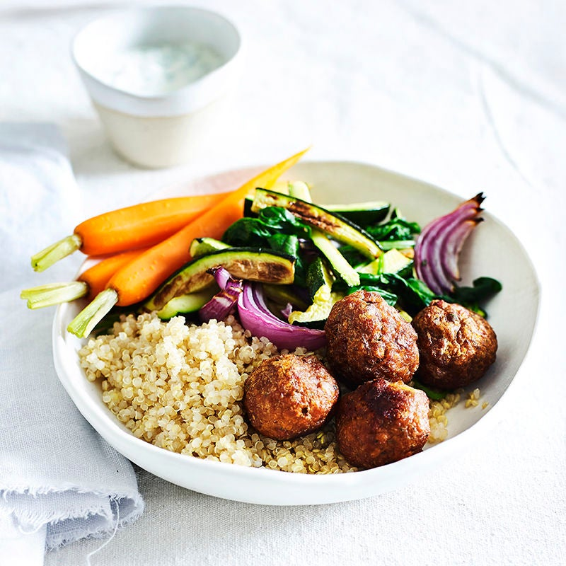 Photo of Meatballs with zucchini and quinoa by WW