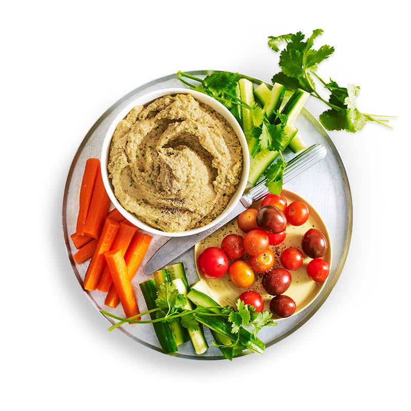 Photo of Hummus with vegies by WW