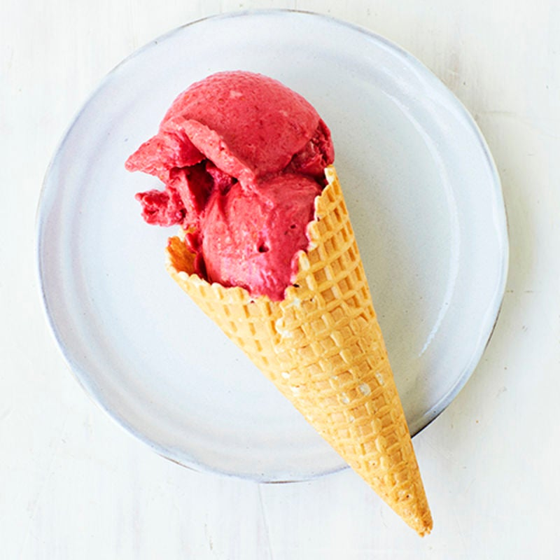 Photo of Raspberry ice-cream by WW