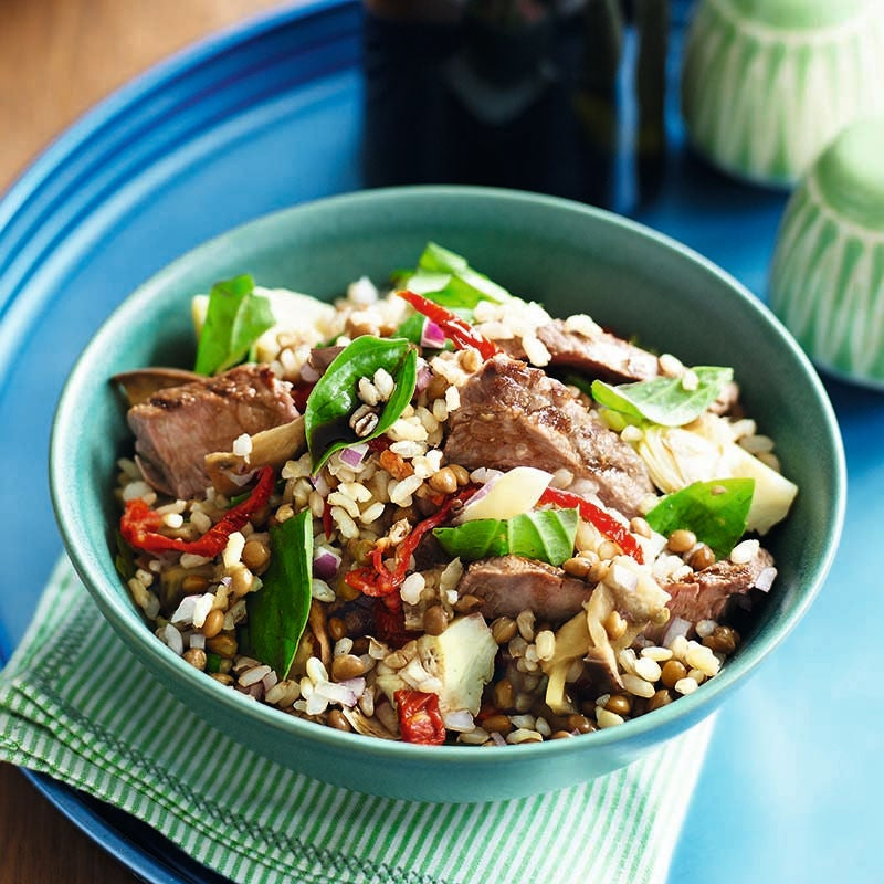 Photo of Beef rice salad by WW