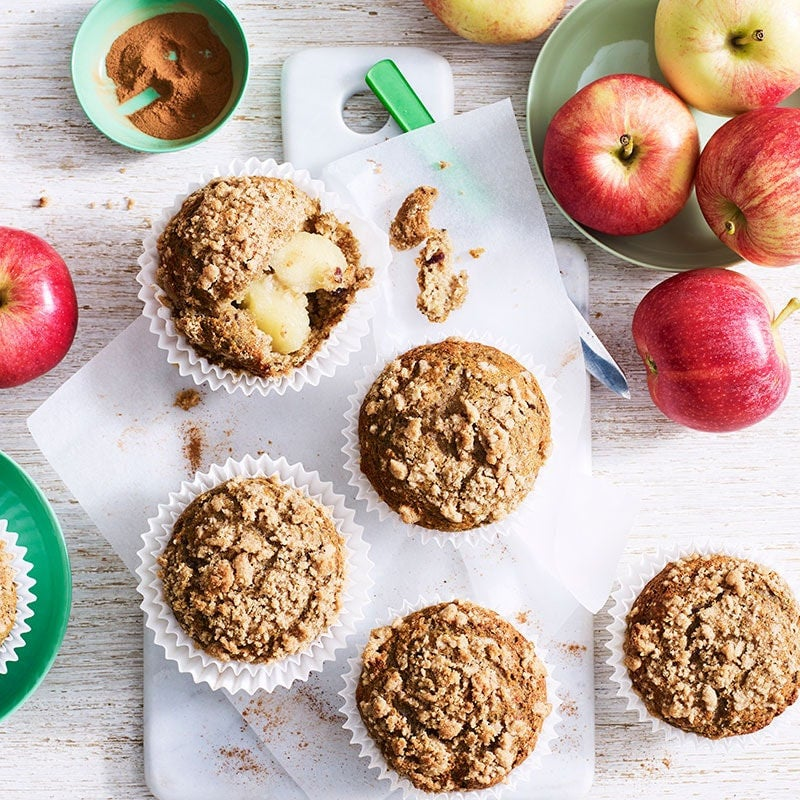 Photo of Sarah Van Dyke's apple crumble muffins by WW