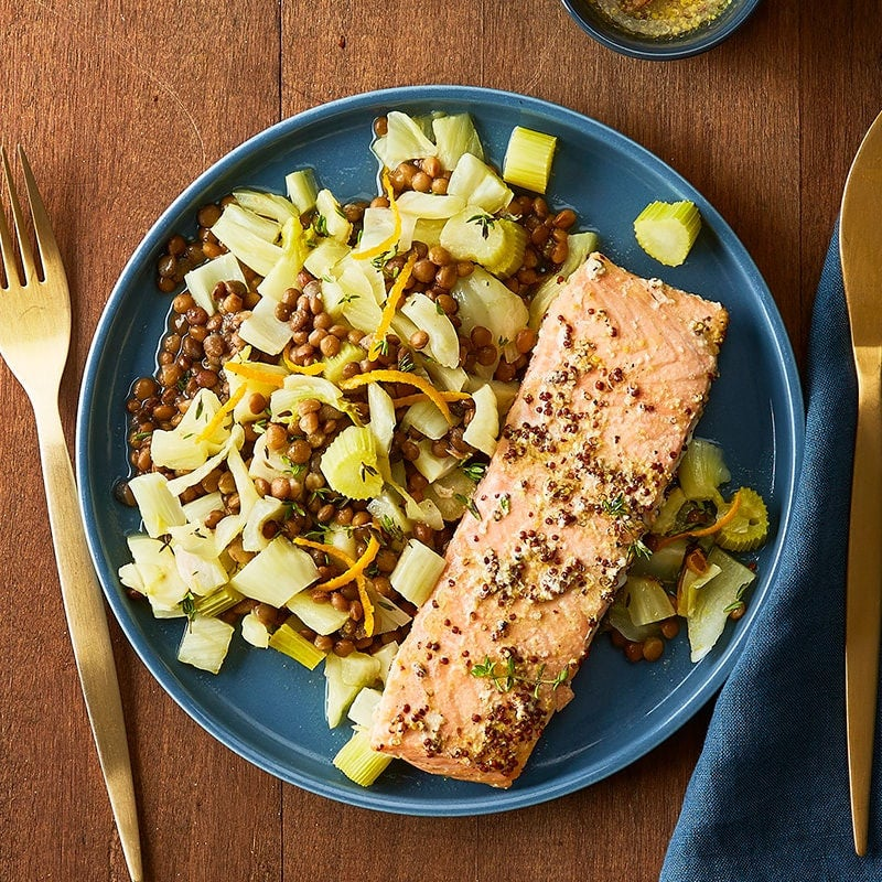 Photo of Salmon with fennel and orange by WW