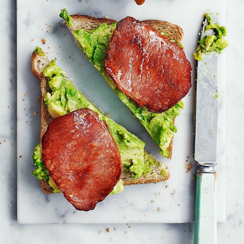 Photo of Bacon and avocado toast topper by WW