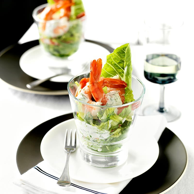 Photo of Prawn Cocktails with coriander lime dressing by WW