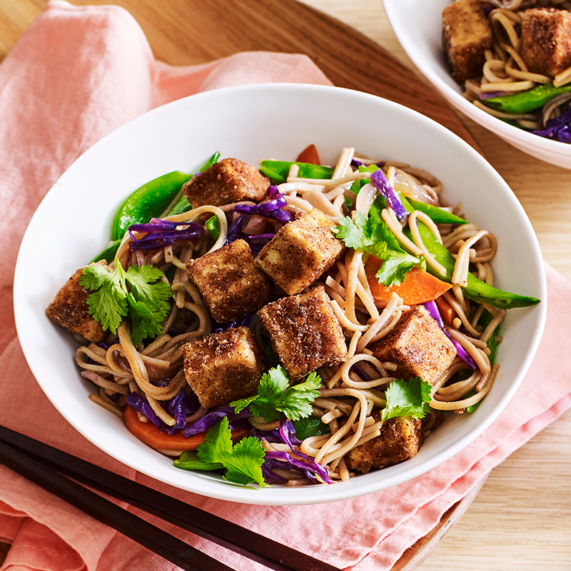 Photo of Stir-fried soba noodles with five-spice tofu by WW