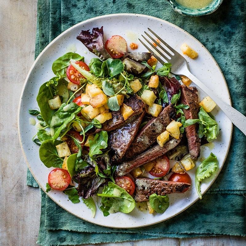 Photo of Steak and potato salad by WW