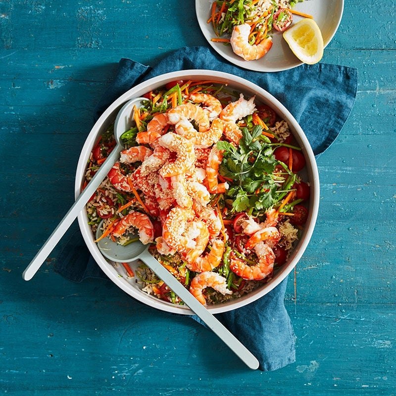 Photo of Prawn rice and quinoa bowl by WW