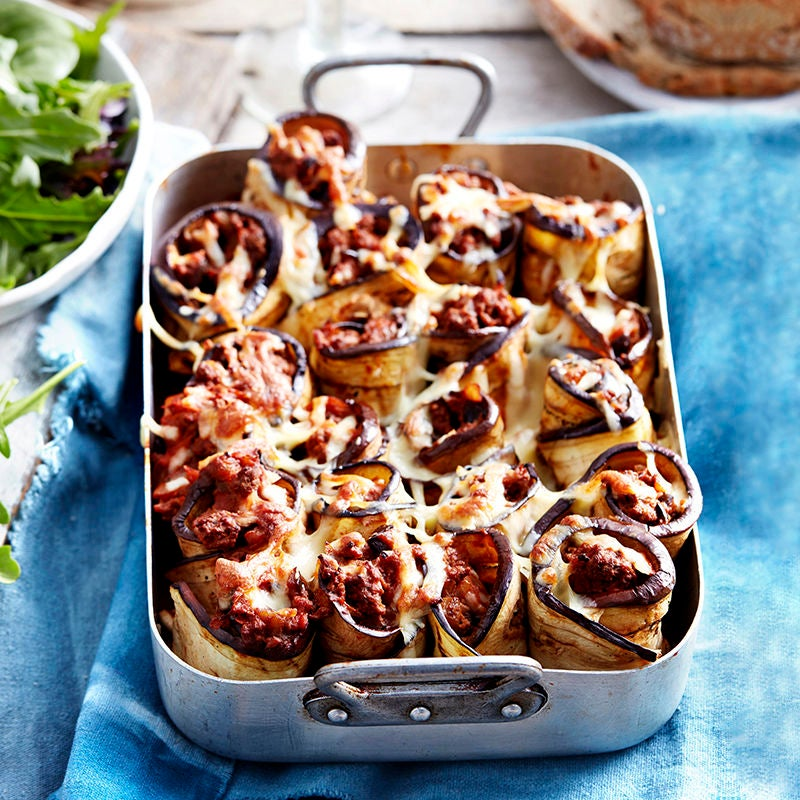 Photo of Beef and eggplant rotolo by WW