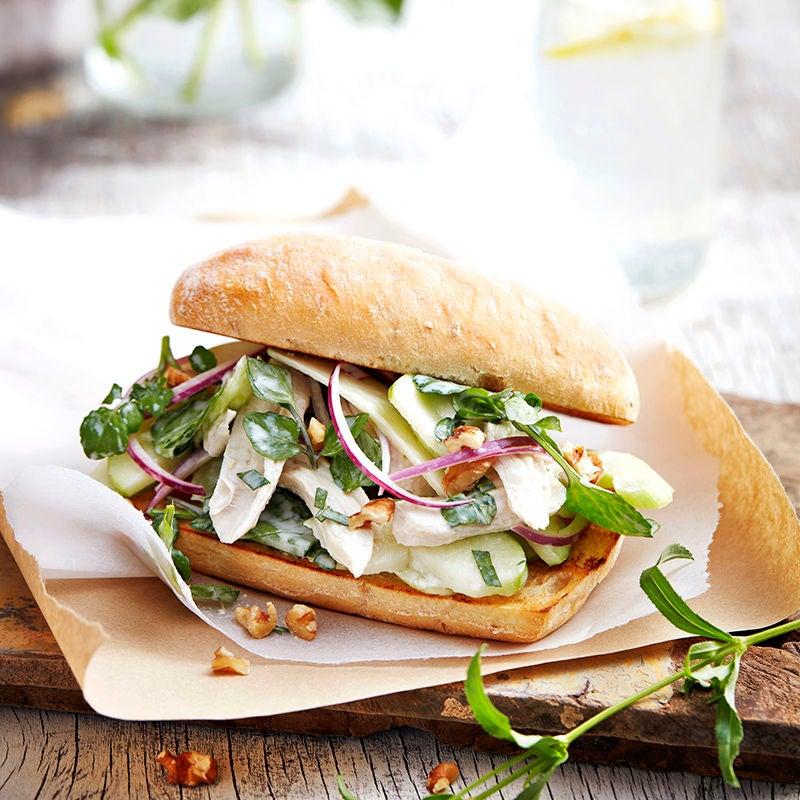 Waldorf Salad Rolls Healthy Recipe Ww Australia