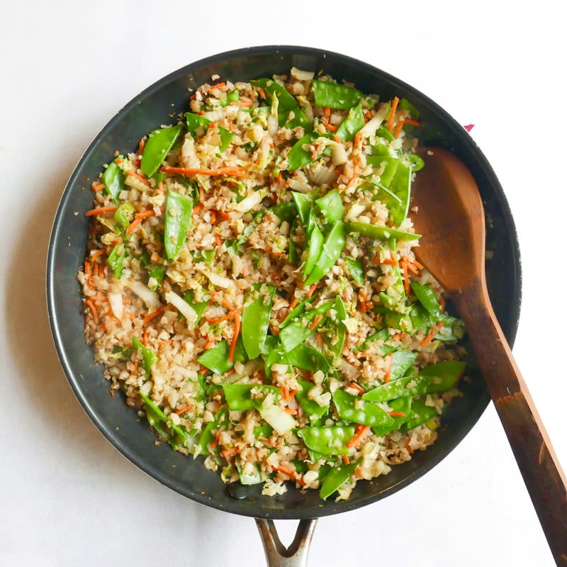 Photo of Quick cauliflower fried  'rice' by WW