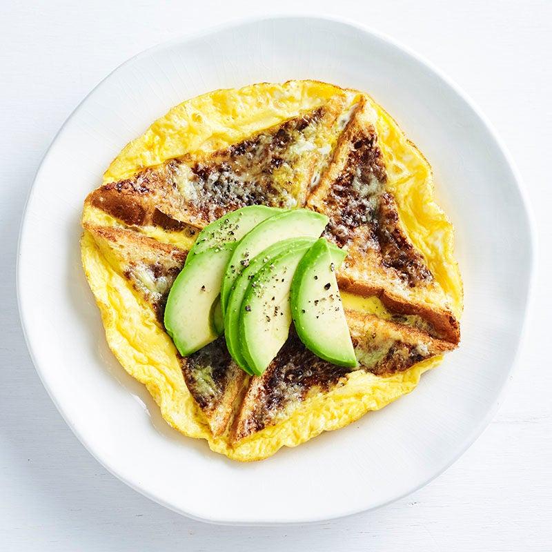 Photo of Happy little Vegemite omelette by WW