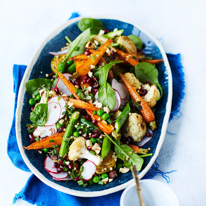 Photo of Roasted vegetable and toasted buckwheat salad by WW