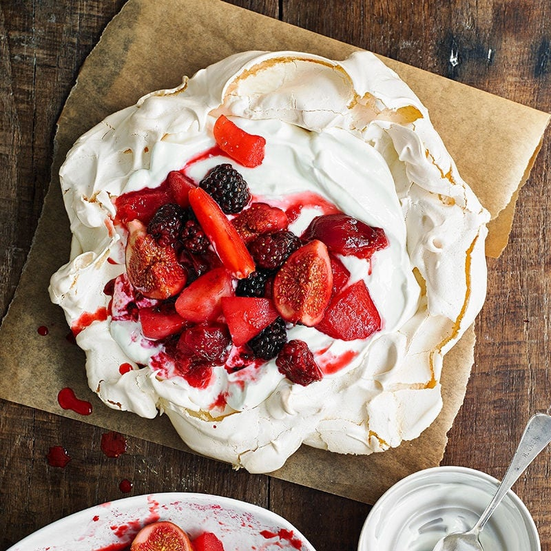 Photo of Poached fruit pavlova by WW