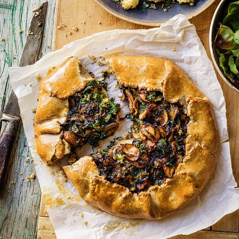 Photo of Spinach and mushroom galette by WW