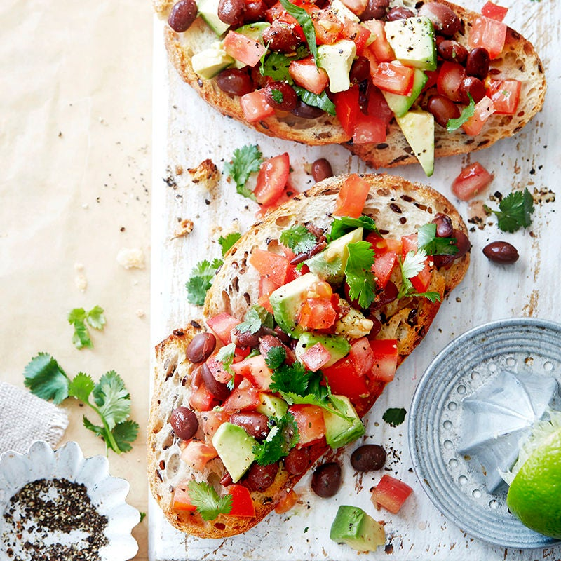 Photo of Guacamole beans on toast by WW