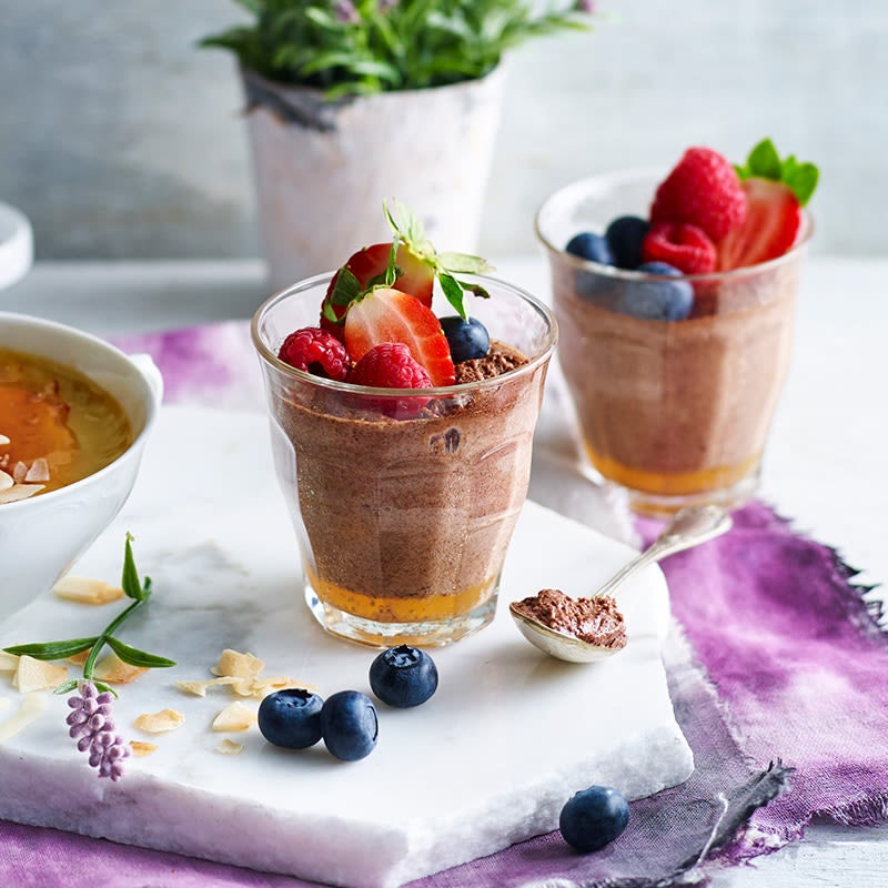 Photo of Dark chocolate mousse by WW